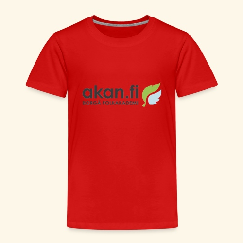 Akan Black - Premium-T-shirt barn