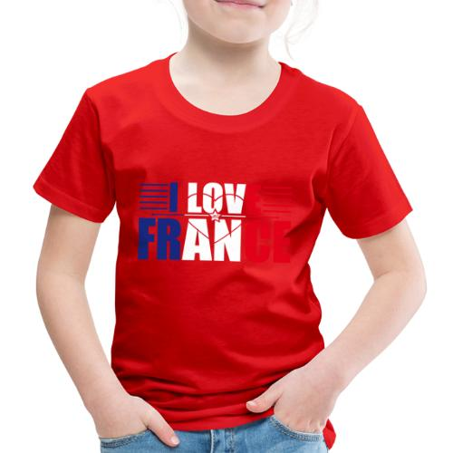 love france - T-shirt Premium Enfant