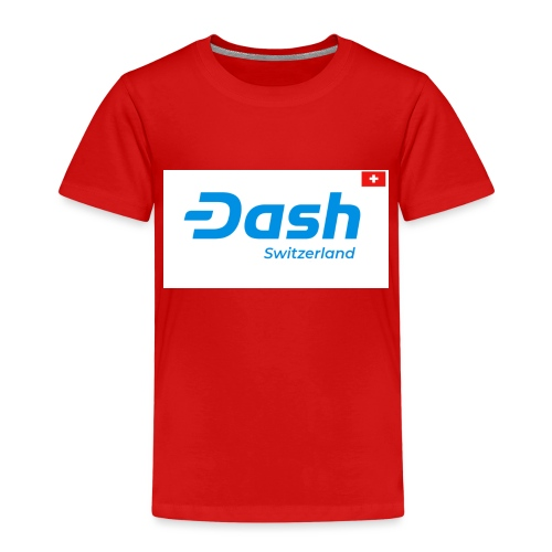 Dash Switzerland - Kinder Premium T-Shirt