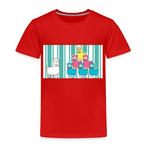 Alpaca Design - Kinder Premium T-Shirt