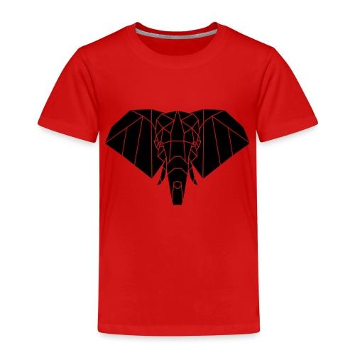 Gezeichneter Elefant - Kinder Premium T-Shirt