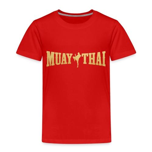Muay Thai - Camiseta premium niño