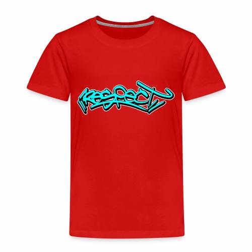 respect graffiti tag - Kinder Premium T-Shirt