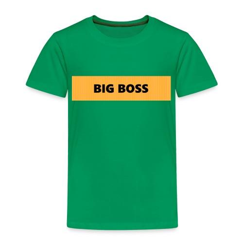BIG BOSS - Lasten premium t-paita