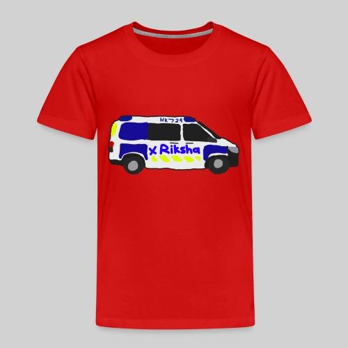 poliisiauto - Lasten premium t-paita