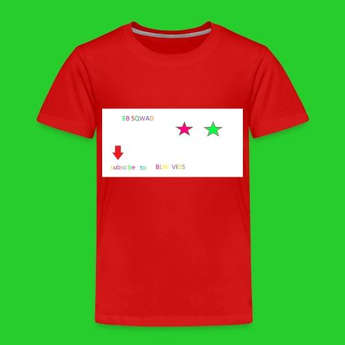BB SQWAD - Kids' Premium T-Shirt