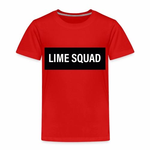 LIME SQUAD V1 - Premium-T-shirt barn