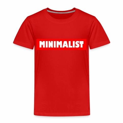 Minimalist - Kinder Premium T-Shirt