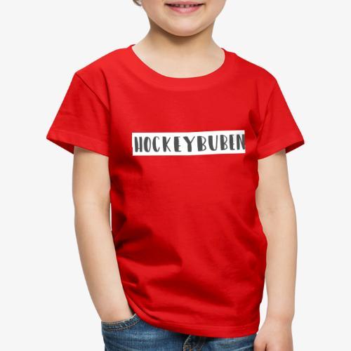 Hockey Schriftzug - Kinder Premium T-Shirt