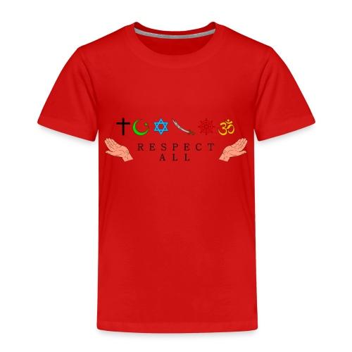 Respect All - Kinder Premium T-Shirt