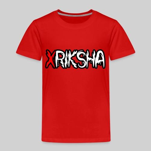 xRiksha - Lasten premium t-paita