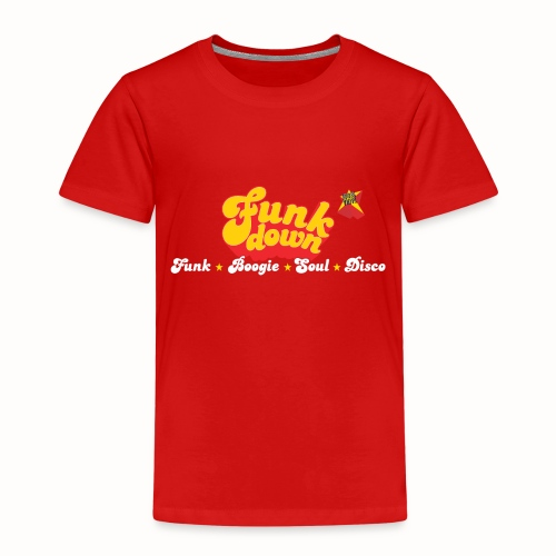 FunkDown Official Merchandise (med genrer) - Børne premium T-shirt