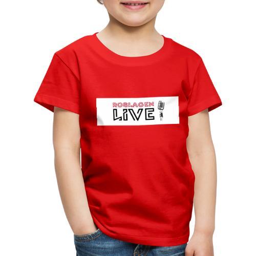 Roslagen Live - Premium-T-shirt barn