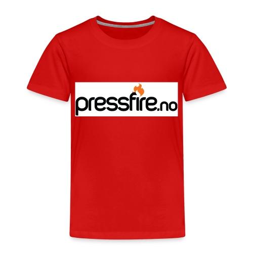 PFlogohvit jpg - Premium T-skjorte for barn