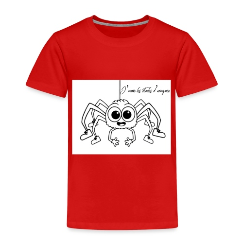 Spider Web Star - T-shirt Premium Enfant