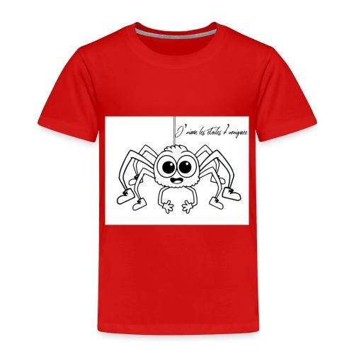 Spider Web Star - T-shirt Premium Enfant