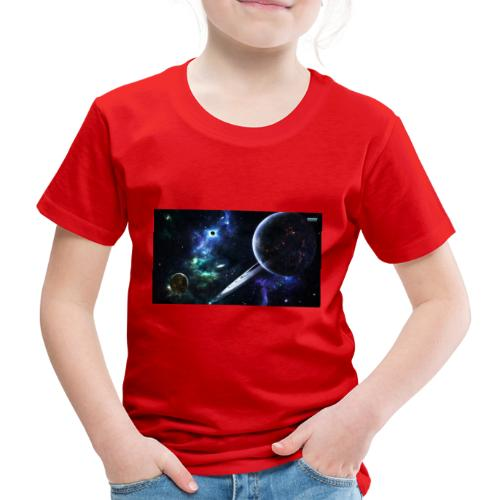 Universum /Saturn - Kinder Premium T-Shirt