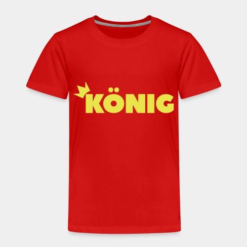 Schriftzug König - Kinder Premium T-Shirt