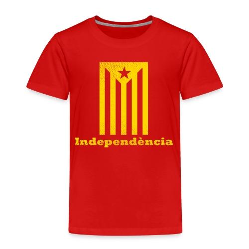 Independència - Camiseta premium niño