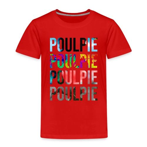 Poulpie Discography - Kids' Premium T-Shirt