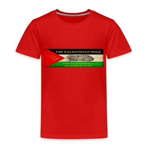 The Palestinian Mole - Kids' Premium T-Shirt