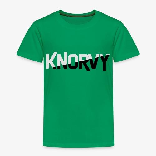 KNORVY - Kinderen Premium T-shirt