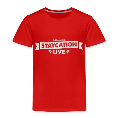Staycation Live logo - Kids' Premium T-Shirt