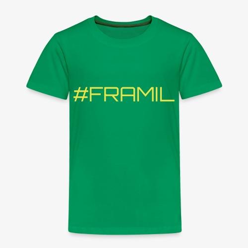#framil - Lasten premium t-paita