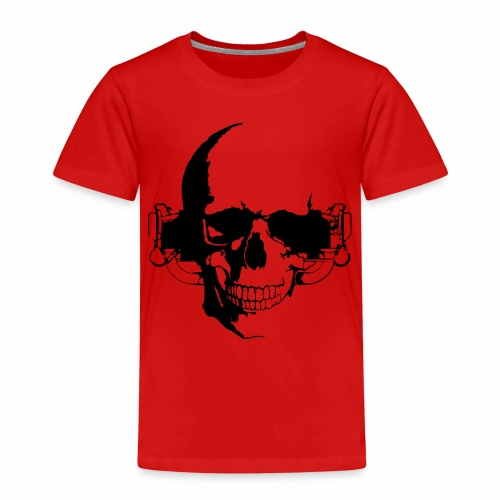 O 360 Skull - Kinder Premium T-Shirt