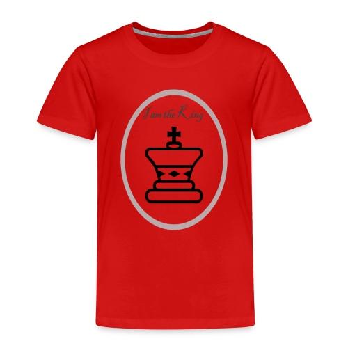 I am the King - Camiseta premium niño