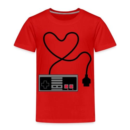 NES Controller Heart - Kids' Premium T-Shirt