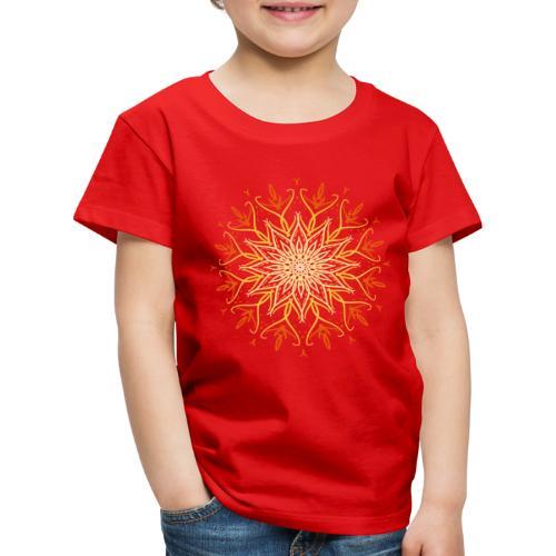 Mandala of fire - Kids' Premium T-Shirt