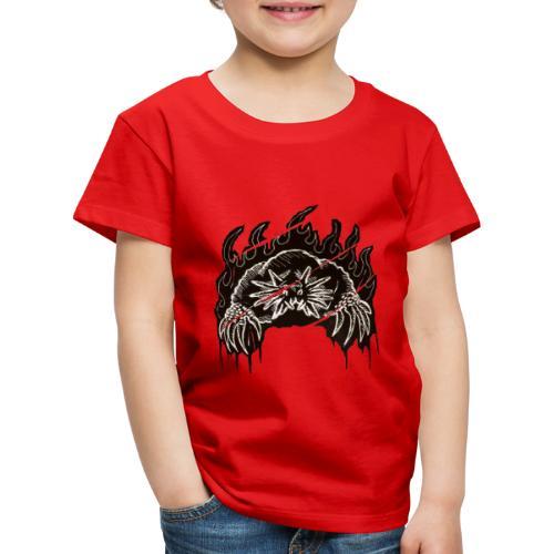 Star Nosed Mole - Lasten premium t-paita