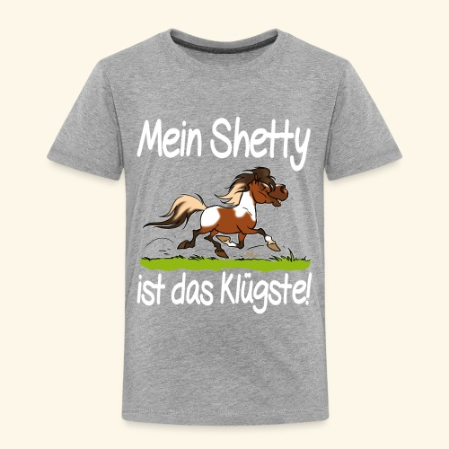 Mein Shetty das Klugste (Text weiss - T-shirt Premium Enfant