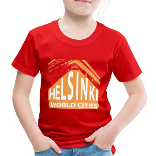 Helsinki2 orange - Kids' Premium T-Shirt
