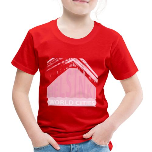 Helsinki light pink - Kids' Premium T-Shirt
