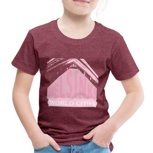 Helsinki light pink - Kids' Premium T-Shirt
