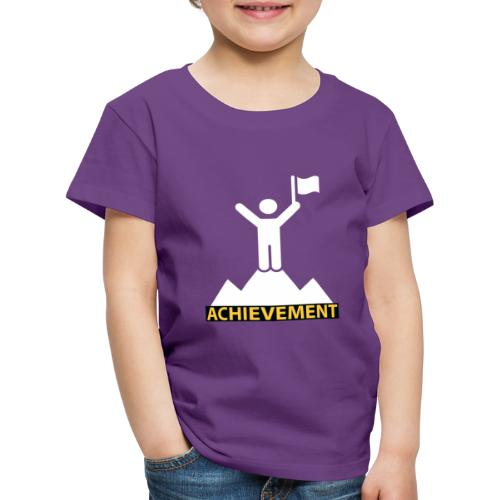 Achievement typo by CloudMonde - Kids' Premium T-Shirt