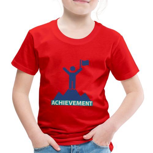 Typo Achivement by CloudMonde - Kids' Premium T-Shirt