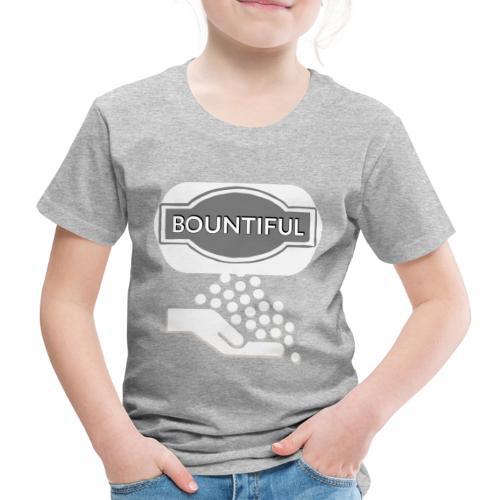 Bontiul gray white - Kids' Premium T-Shirt
