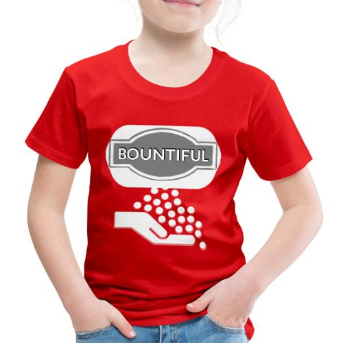 Bontiul gray white - Kids' Premium T-Shirt