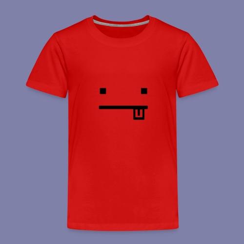 Blocky Tongue Face - Kids' Premium T-Shirt