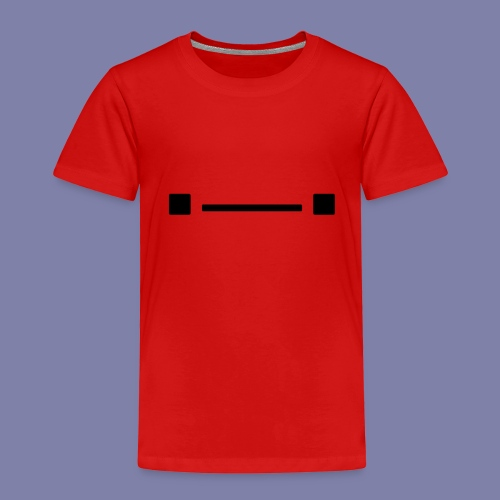Middle Blocky Face - Kids' Premium T-Shirt