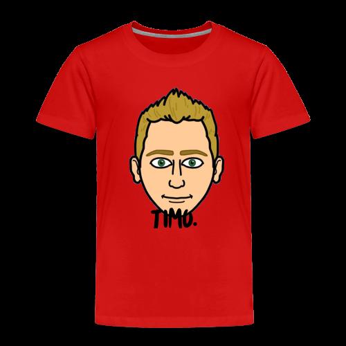 Logo TIMO. - Kinderen Premium T-shirt