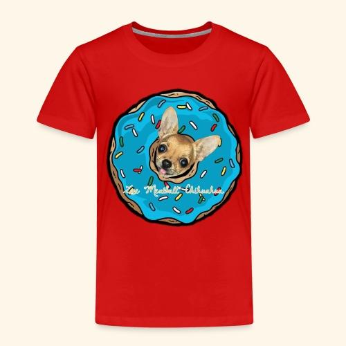 Zoe Donuts Chihuahua - Maglietta Premium per bambini