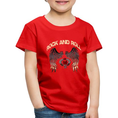 Rock and Roll - Camiseta premium niño