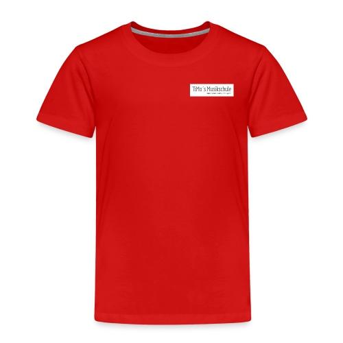 Timos-MusikschulePNG - Kinder Premium T-Shirt