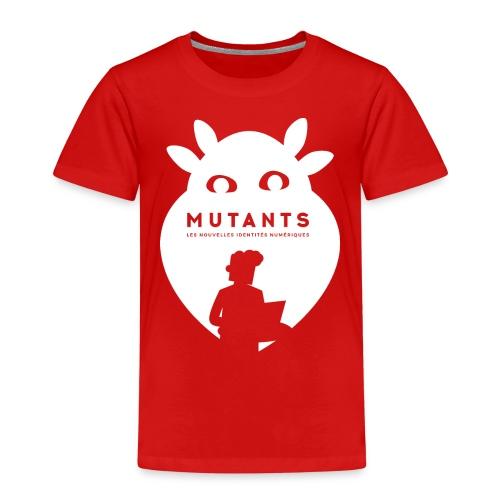 mutant H blanc - T-shirt Premium Enfant