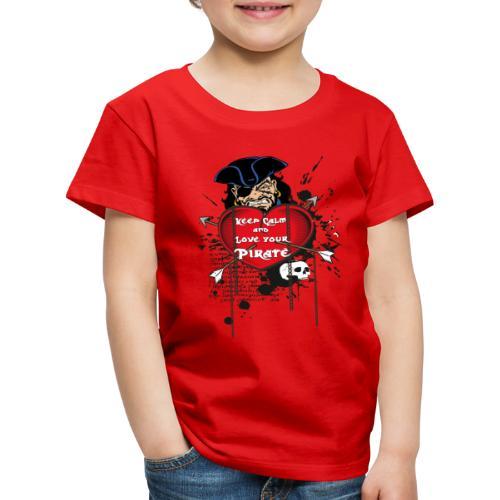 love your pirate - Maglietta Premium per bambini