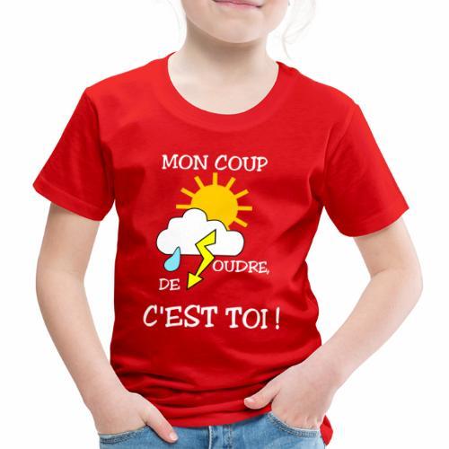 Mon coup de foudre - T-shirt Premium Enfant